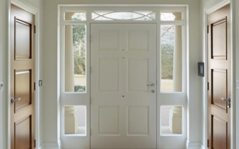 wejściowe drzwi