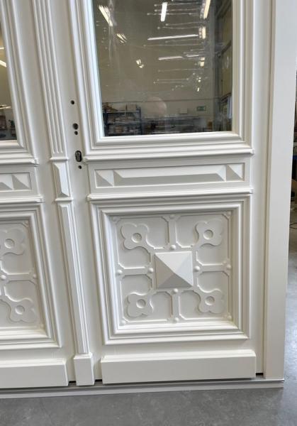 drzwi białe wejściowe 2